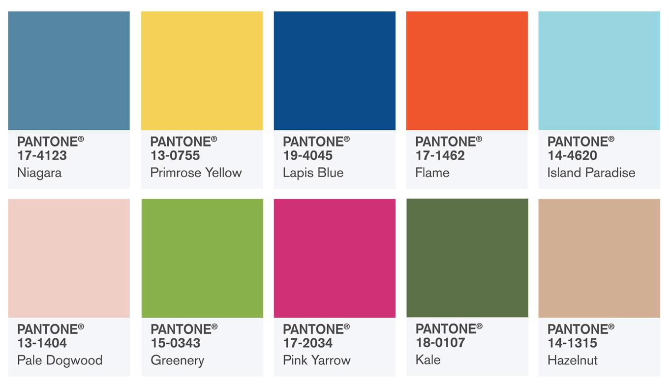 colores primavera tendencias